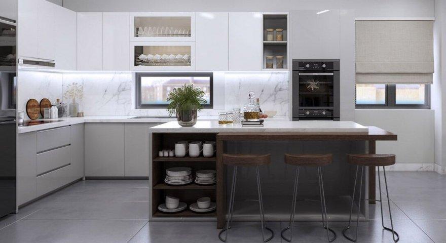 Tủ bếp hiện đại và tiện dụng - Xu hướng nội thất 2020