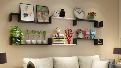 Chiêm ngưỡng những mẫu kệ treo tường phòng khách đẹp chất ngất
