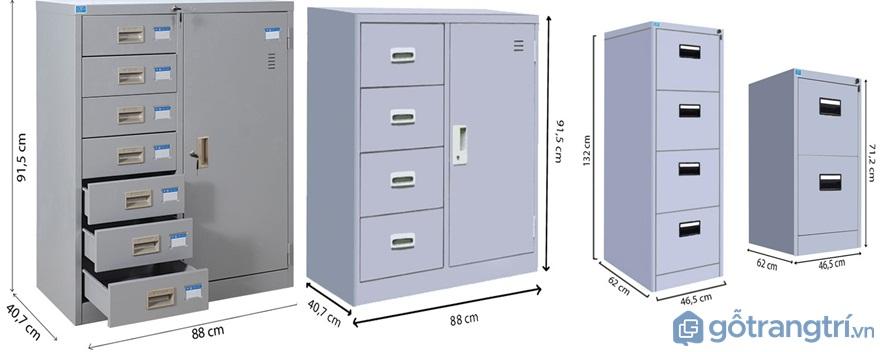 Tủ file đựng tài liệu nhiều ngăn - Ảnh: Internet