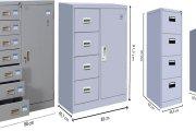 BST những bộ tủ đựng tài liệu nhiều ngăn đẹp hiện đại 2020