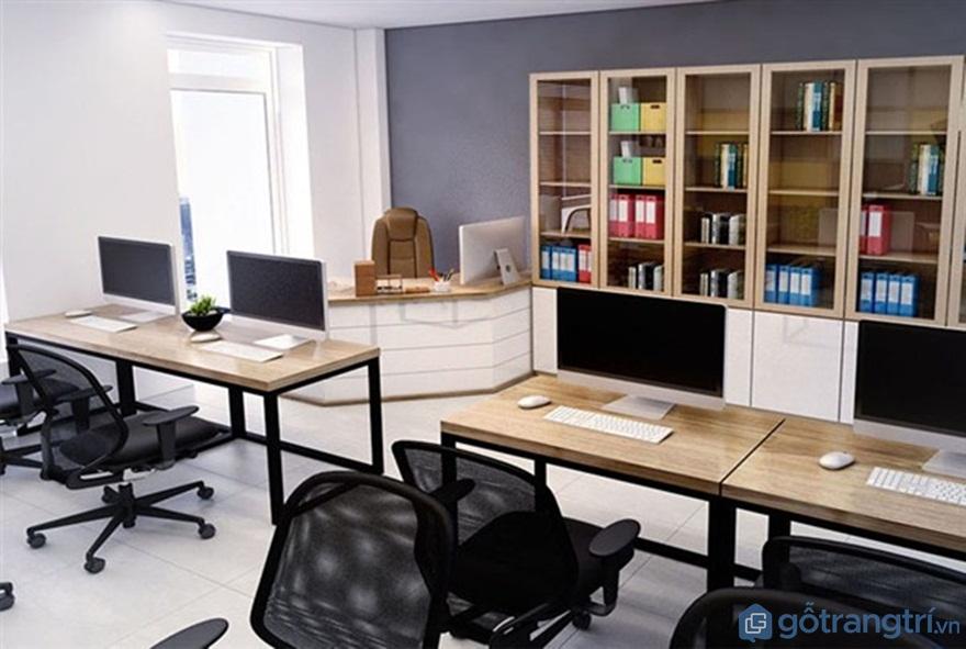 Tủ đựng tài liệu nhiều ngăn cho nhân viên - Ảnh: Internet