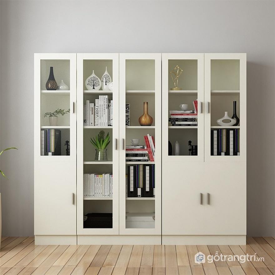 Tủ đựng hồ sơ văn phòng đẹp bằng sắt - Mẫu 02