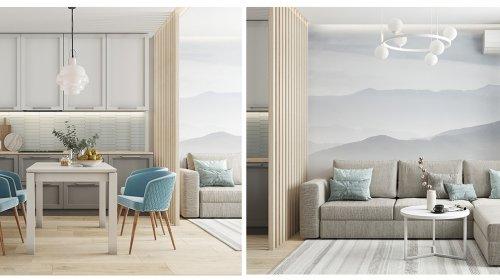 Thiết kế nội thất căn hộ Kosmo 2 phòng ngủ – Gotrangtri.vn