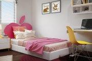 Tổng hợp các mẫu giường ngủ đơn cho bé gái siêu ngọt
