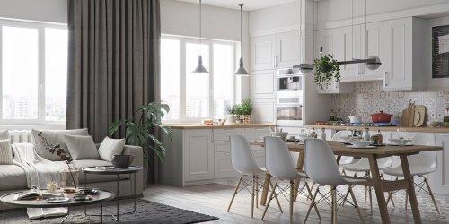 Đã mắt với BST thiết kế nội thất phòng bếp siêu đẹp - Gotrangtri.vn