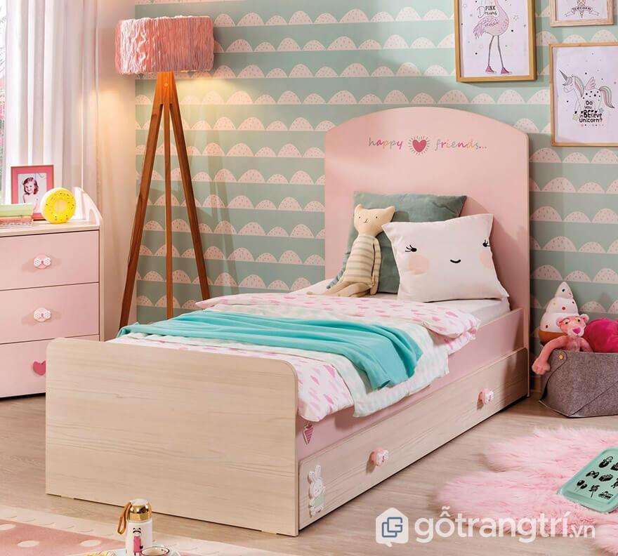 giường ngủ đơn cho bé gái