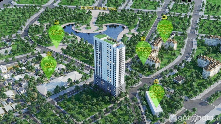 Tổng quan dự án căn hộ chung cư Luxury Park Views