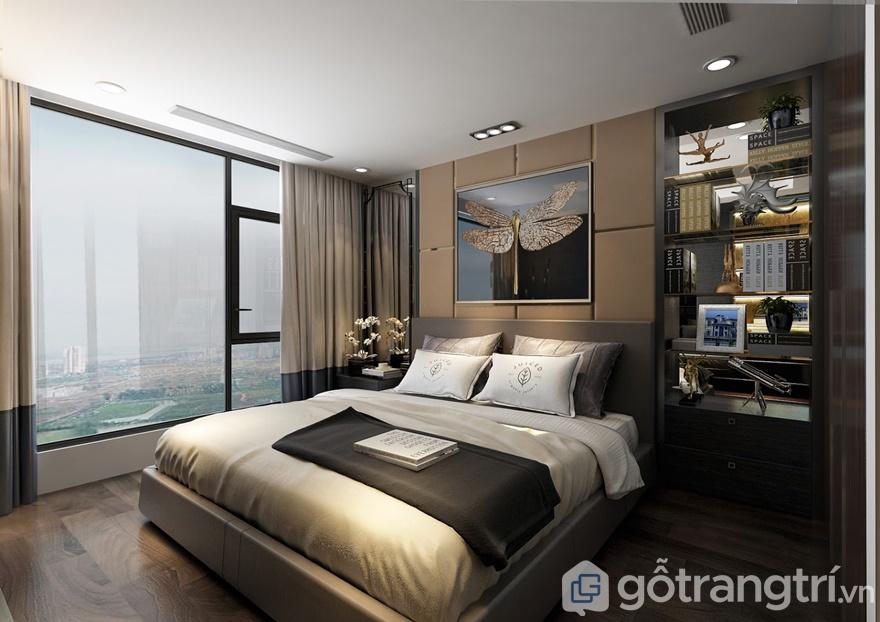 Nội thất phòng ngủ sang trọng, hiện đại