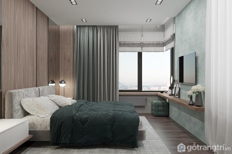 Giường ngủ cạnh cửa sổ sẽ giúp bạn đón ánh nắng bình minh - Ảnh: Internet