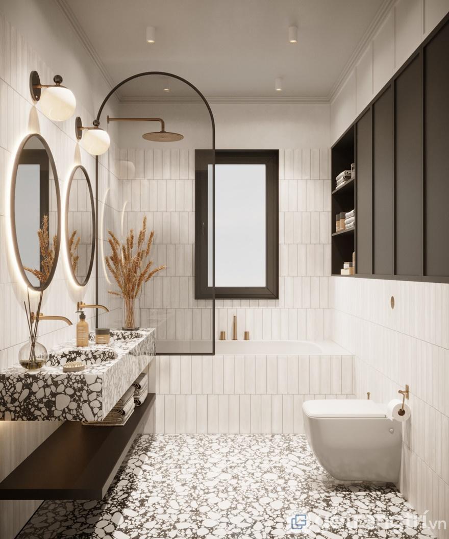 Phong cách nội thất hiện đại phòng tắm