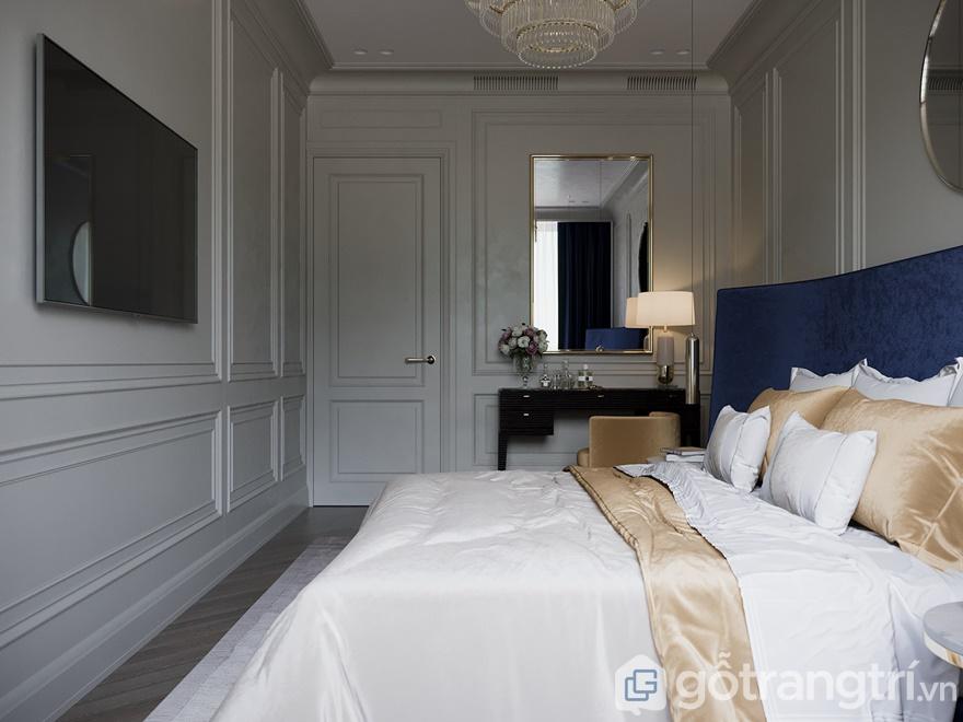 Phòng ngủ đáp ứng đầy đủ công năng, tiện nghi