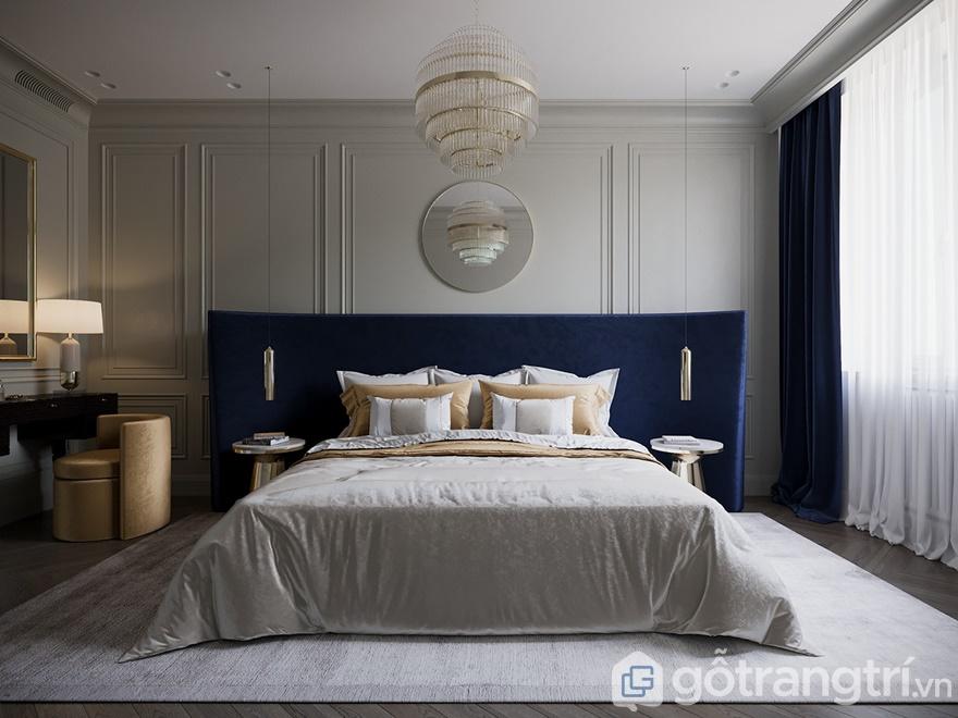 Phong cách nội thất hiện đại phòng ngủ