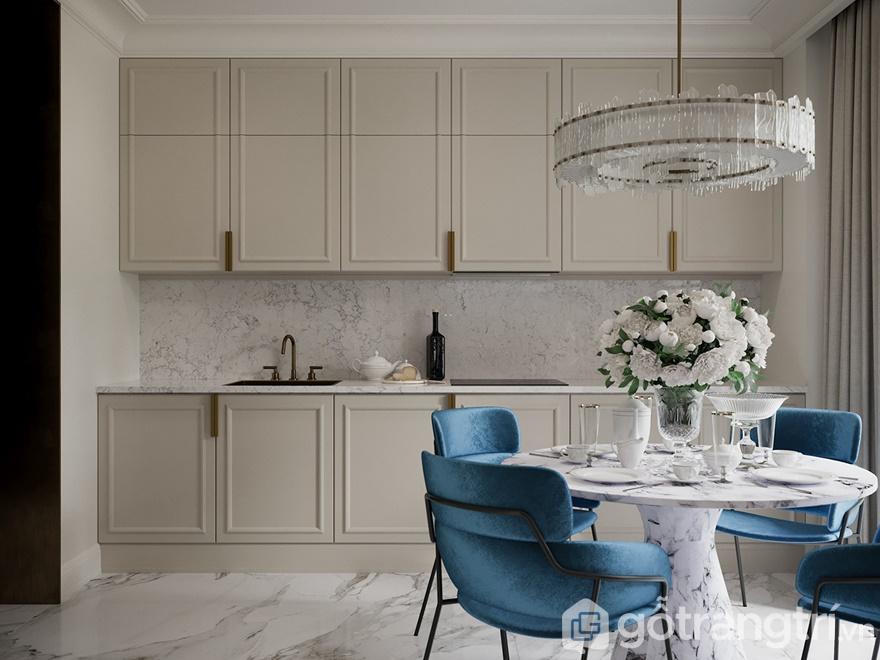 Phong cách nội thất hiện đại phòng bếp