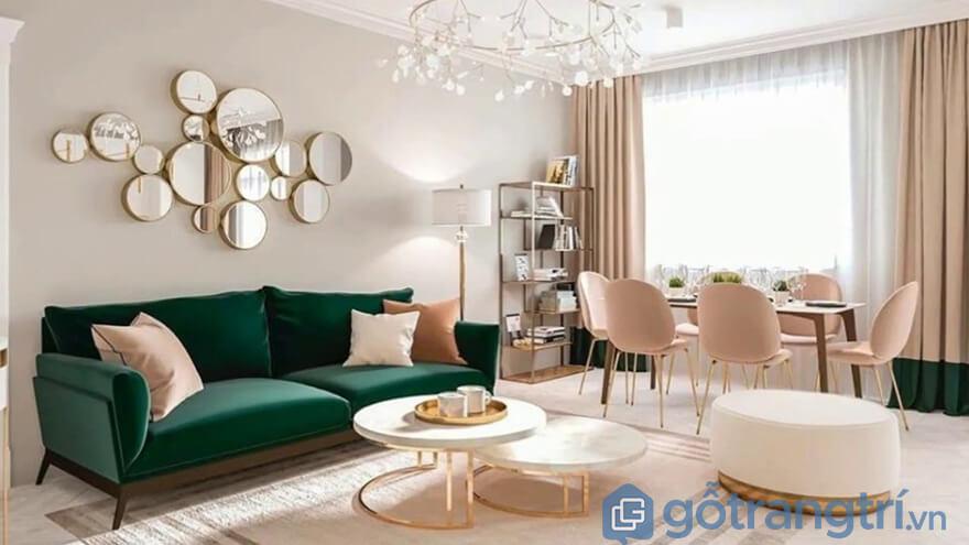 Thiết kế nội thất phòng kháchThiết kế nội thất phòng khách