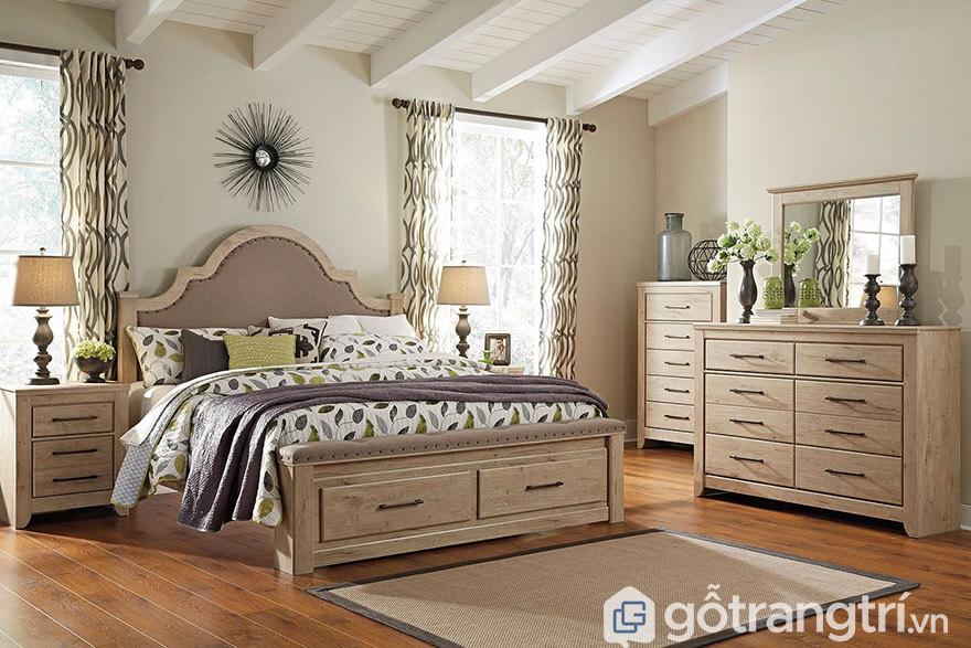 Phòng ngủ phong cách vintage