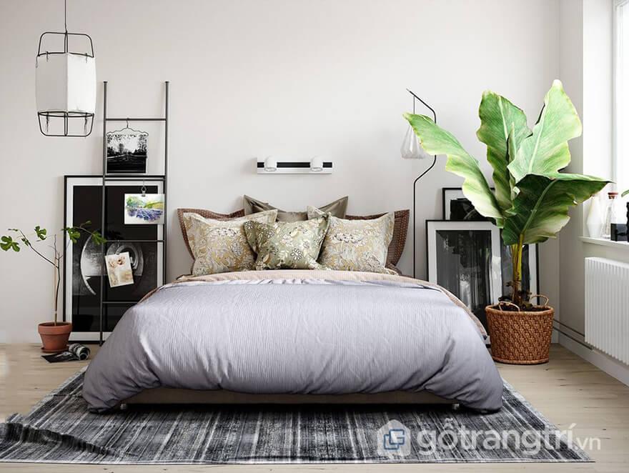 Phòng ngủ phong cách scandianvian