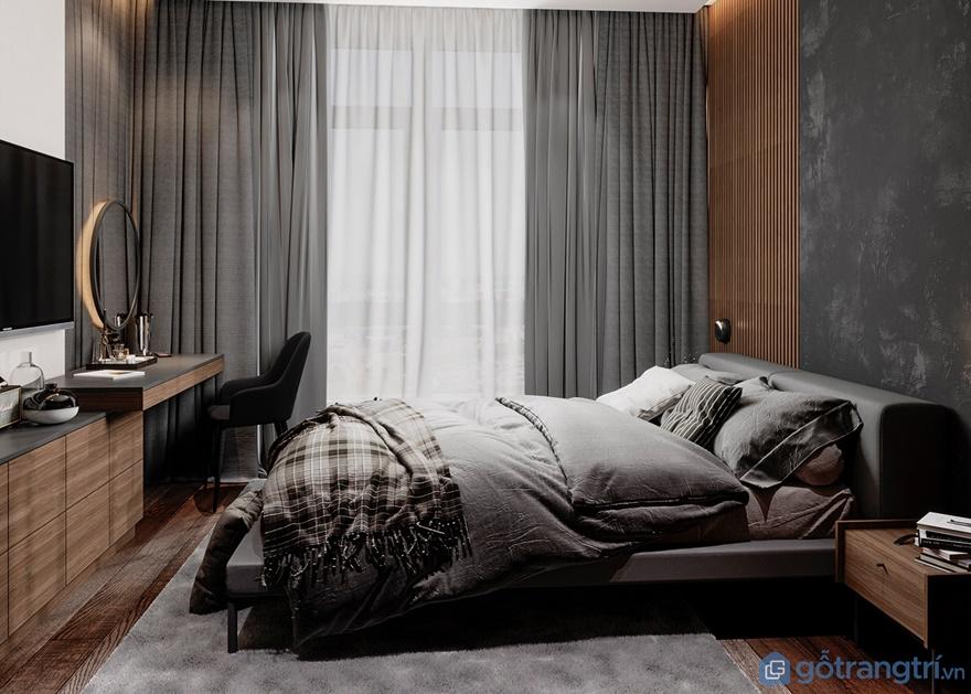 Phòng ngủmasterlà phòng ngủ dành cho cặp vợ chồng