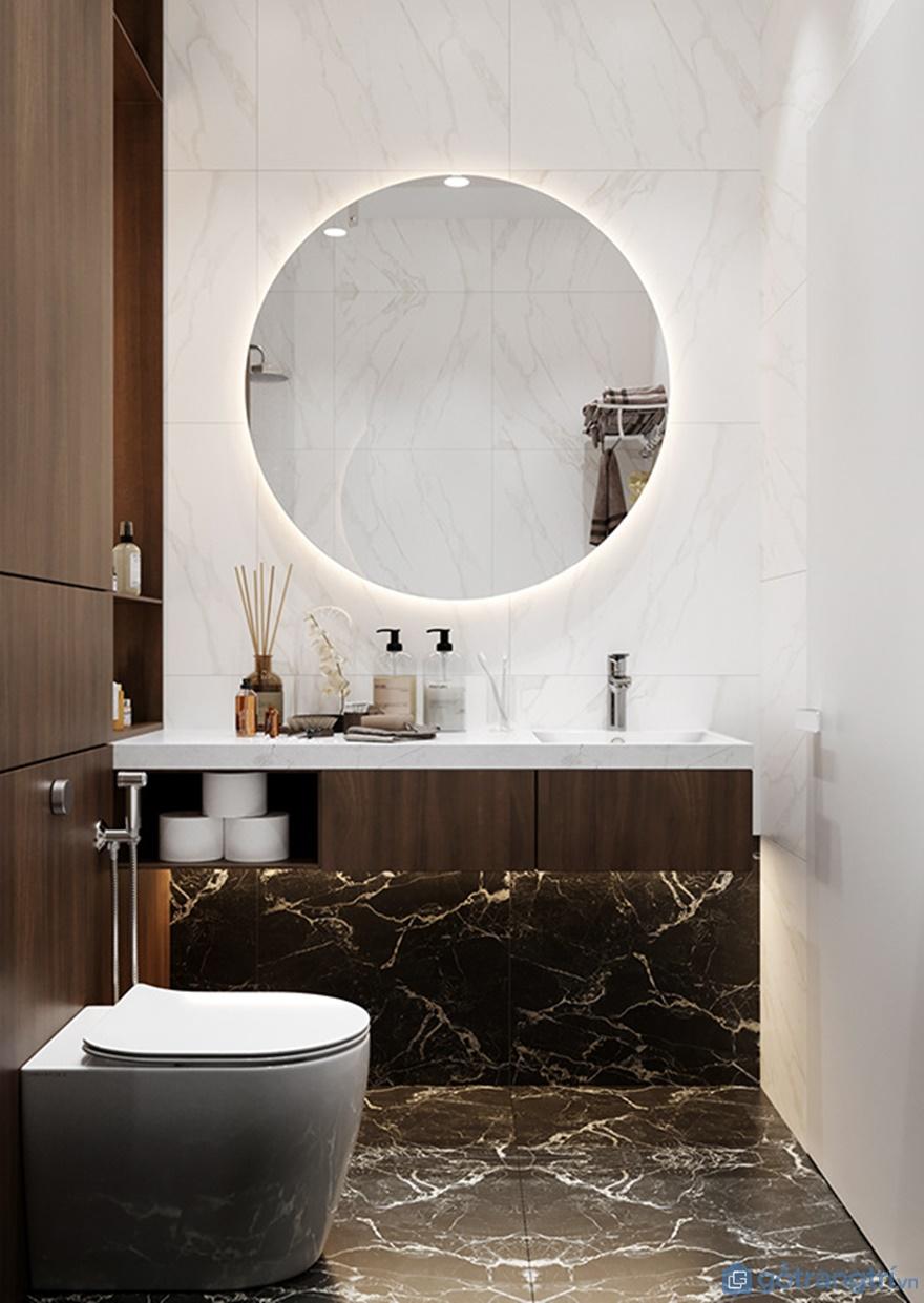 Thiết kế nội thất phòng tắm tại Luxury Park Views cao cấp
