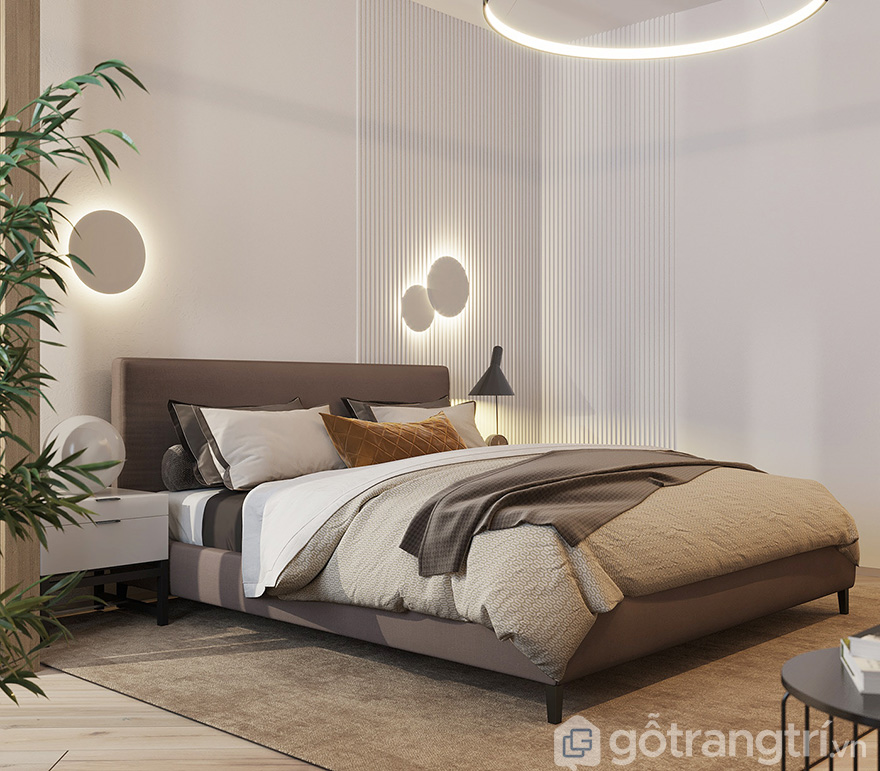 Thiết kế phòng ngủ lịch lãm