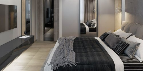 Thiết kế nội thất căn hộ 2 phòng ngủ Luxury Park Views - Gotrangtri.vn
