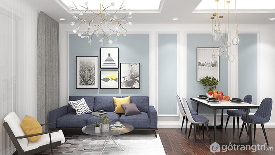 Mẫu nội thất chung cư hiện đại, sang trọng với gói giá phù hợp