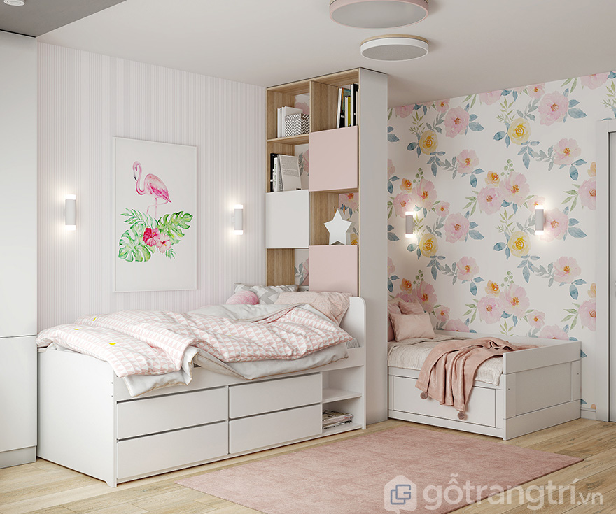 thiết kế nội thất căn hộ kosmo 2 phòng ngủ