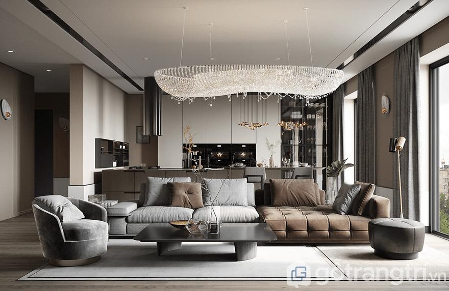 Thiết kế nội thất chung cư Luxury Park Views