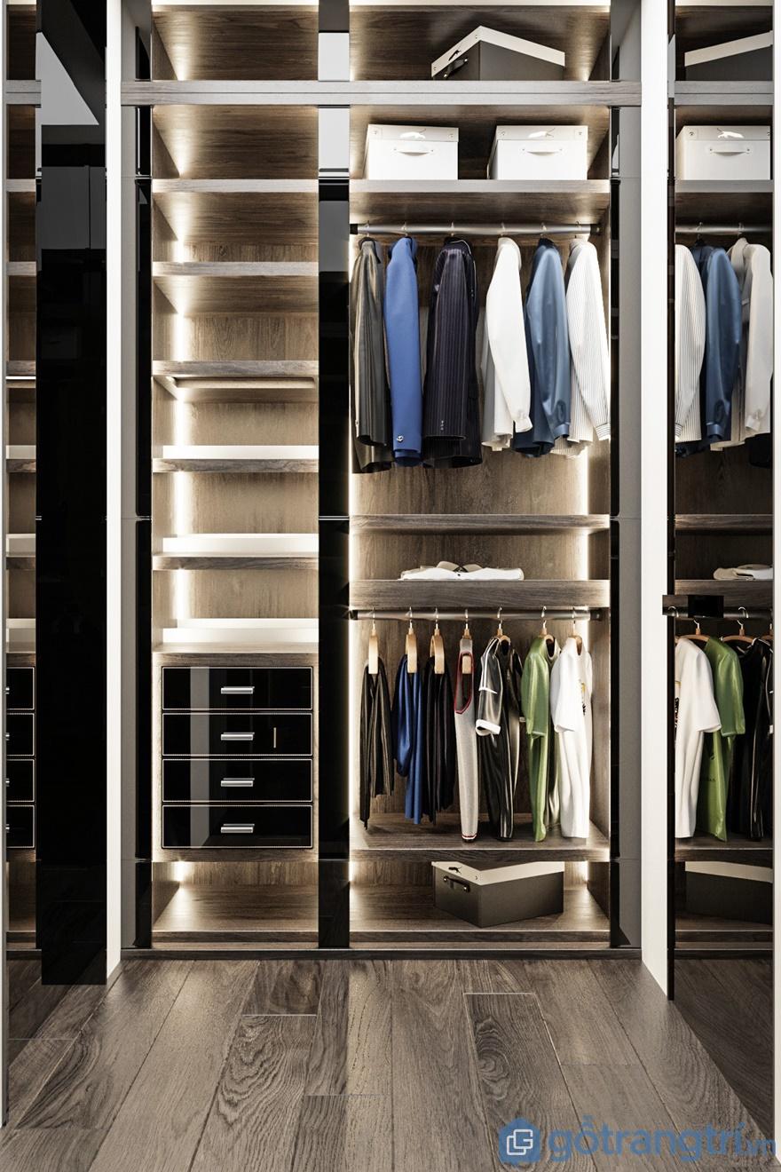 Phòng thiết kế đa năng để trưng bày đồ dùng của mỗi cá nhân