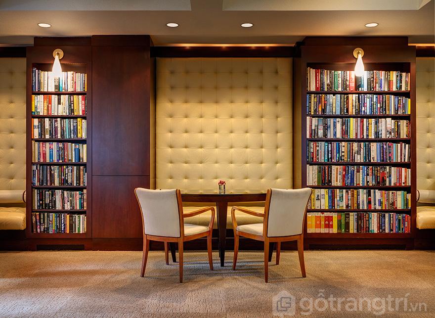 Thiết kế phòng đọc sách đẹp
