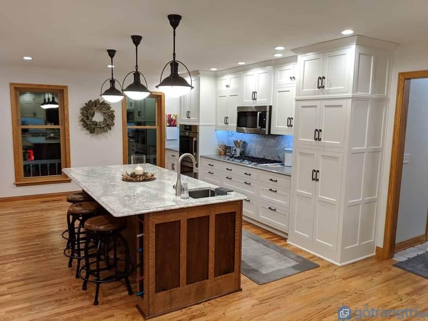Nhược điểm của tủ bếp laminate - Ảnh: Internet