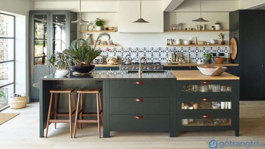 Tính thẩm mỹ của tủ bếp laminate - Ảnh: Internet