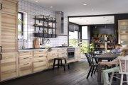 Tủ bếp nhỏ gọn - Hô biến căn bếp chật hẹp trở nên rộng thênh thang