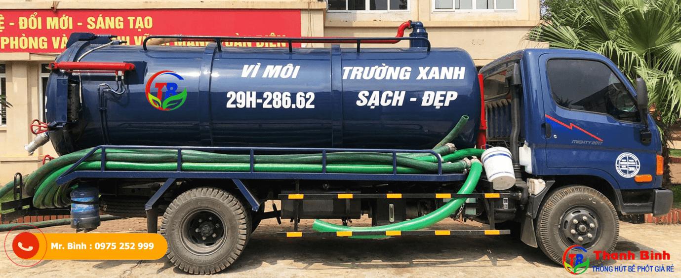 công ty hút bể phốt Thanh Bình