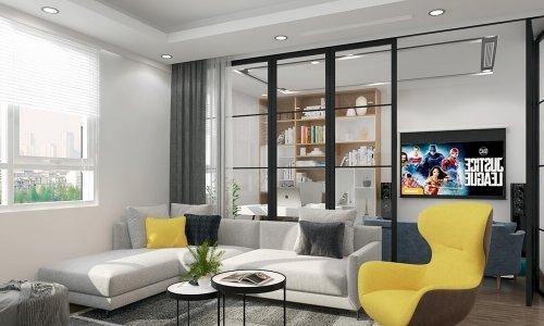 Thiết kế nội thất chung cư cao cấp Cầu Giấy Center Point
