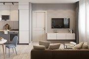 Nội thất chung cư FLC Garden City đơn giản, hiện đại