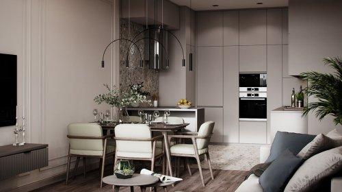 Thiết kế căn hộ Hateco Laroma Huỳnh Thúc Kháng – Phong cách hiện đại