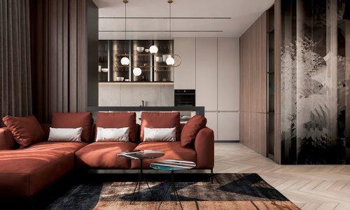 Thiết kế nội thất chung cư Hateco Laroma - Gotrangtri.vn