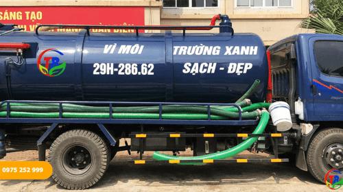 Thông hút bể phốt Thanh Bình – Đơn vị hàng đầu trong lĩnh vực vệ sinh