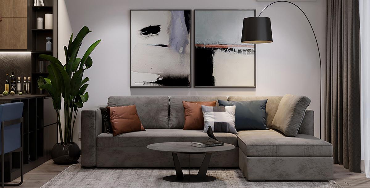 thiết kế và thi công nội thất căn hộ Eco Lake View