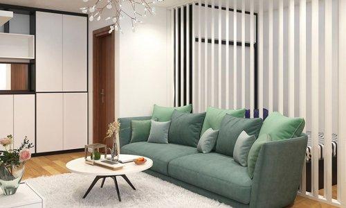 Thiết kế nội thất chung cư FLC Garden City 50m2 - anh Quang