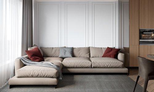 Mẫu nội thất hiện đại chung cư Samsora Premier 105 sang chảnh