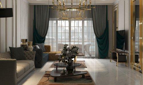 Mẫu thiết kế nội thất chung cư Sunshine City - Gotrangtri.vn