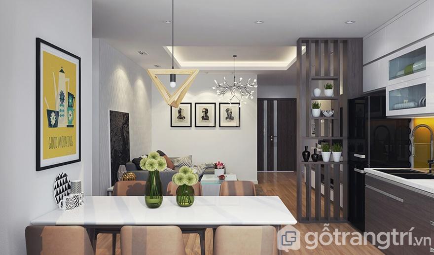 Gotrangtri.vn chính là đơn vị thi công nội thất mà chị Chi lựa chọn