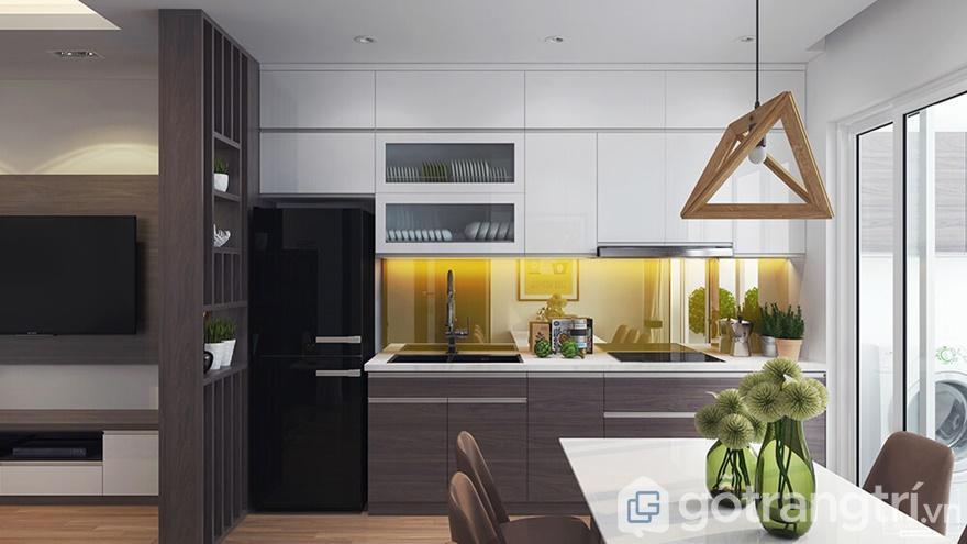 Phòng bếp hướng đến sự tiện nghi, sạch gọn