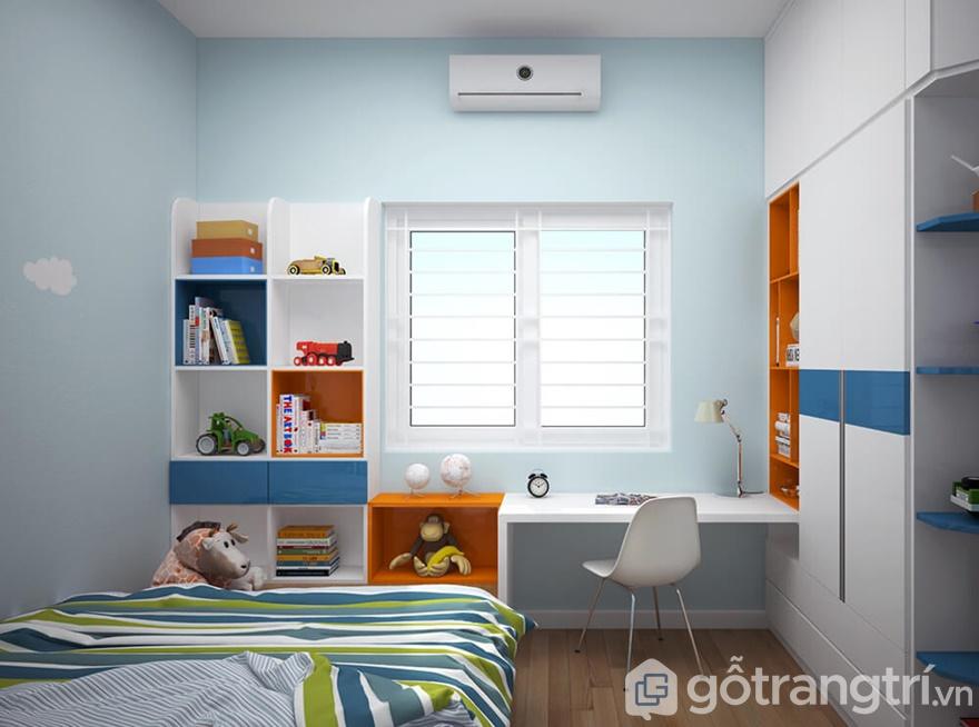 Giải pháp thi công nội thất Golden Park Tower 2 phòng ngủ