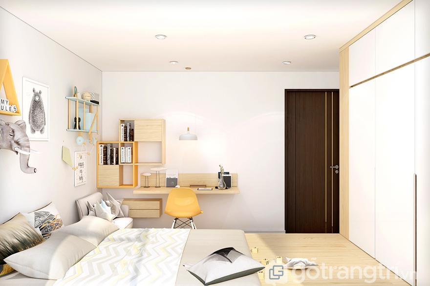 Thiết kế căn hộ FLC Garden City 67m2