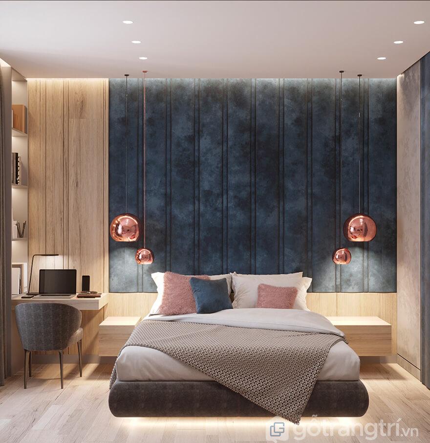 Thiết kế nội thất căn hộ Hateco Laroma 2 phòng ngủ