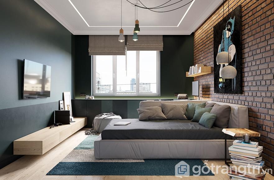 Phòng ngủ thiết kế thoáng đãng, tiện nghi