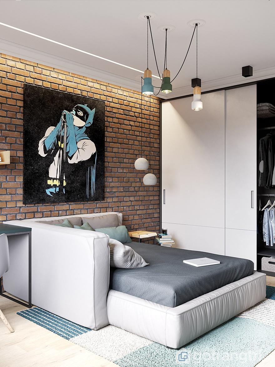 Tủ quần áo được thiết kế cánh lùa