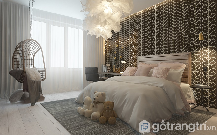 Giải phápthiết kế căn hộ Samsora Premier 105 3 phòng ngủ
